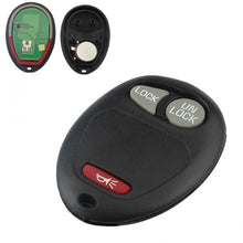 Load image into Gallery viewer, 3 Buttons Replacement Auto Car Keyless Entry Remote Key Fob Replacement Transmitter Clicker Beeper Alarm for Chevrolet / GMC / Hummer / Isuzu 2004-2012