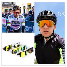 Load image into Gallery viewer, 100% S2 Brand Peter Sagan Same paragraph Riding Cycling Sunglasses Tr90 Ultra Light Bicycle Fishing Eyewear Sport Goggles   Replaceable Lens *2