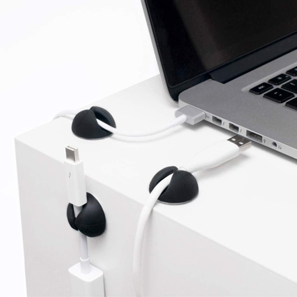 Cable clamp storage box, Multipurpose Cable Clips Cord Management System, Desktop Cable Organizer  5-50 pcs)