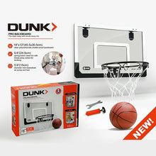 Load image into Gallery viewer, Mini Basketball Hoop With Ball 18 x12 Shatterproof Backboard