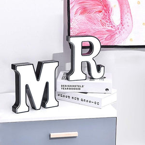 LED Alphabet Light Signs - XIYUNTE USB & Battery Powered Night Lights Marquee Letters Motif Lamp Mood Lights, Indoor Lights Lighting up Words for Kids Room, Propose Marriage and Anniversary, Christmas