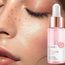 Load image into Gallery viewer, 15ML Hyaluronic Acid Pores Shrinking Essence Tightening Oil-control Foundation Prolong Pores Invisible Makeup Base