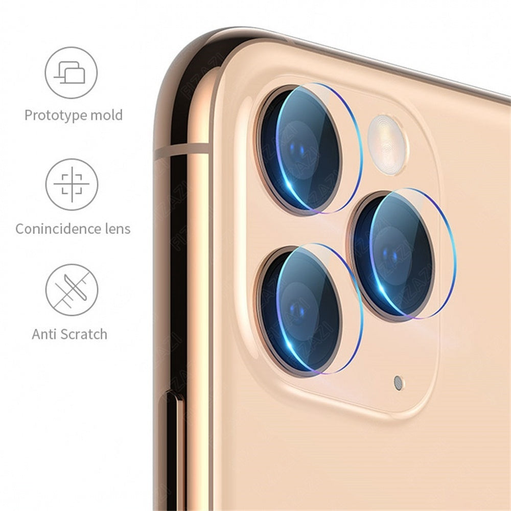 3 in 1 For iPhone 11 Pro Max Xs Max Xs Xr X 7 8 Plus Front+Back+Camera Lens 9H Tempered Glass Screen Protector