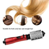 2 in 1 Multifunctional Styling Tools Curler Hairdryer Rotational Hair Curling Comb Professinal Hair Dryer Brush Salon Blow Dryer