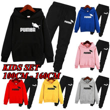 Load image into Gallery viewer, Pumba Kids Sports Suit 2-piece Strack Suit for Boys and Girls