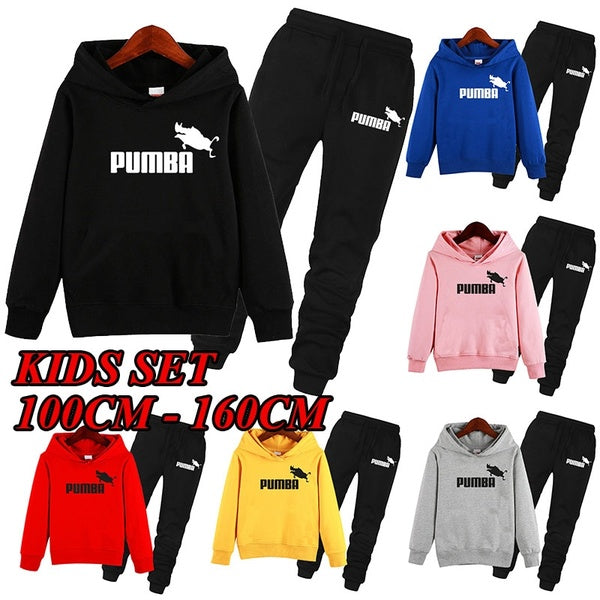 Pumba Kids Sports Suit 2-piece Strack Suit for Boys and Girls