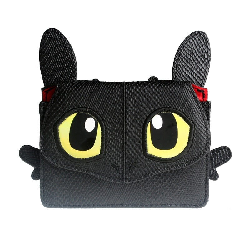 How to Train Your Dragon Coin Purse Keychain wallet