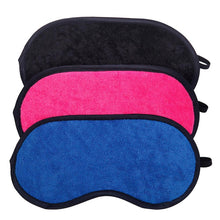 Load image into Gallery viewer, Nude Travel Tool Soft Padded Sleep Relax Aid Towel Goggles Shading Eye Patch Eye Mask Sleep Blindfold