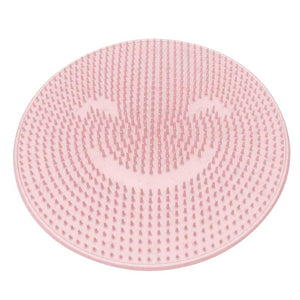 Silicone Bath Massage Cushion Brush Anti-slip for Lazy Wash Feet Clean Dead Skin Bathroom