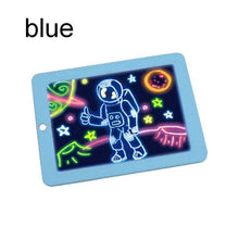 Load image into Gallery viewer, Portable 3D Light Magic Drawing Pad LED Writing Board Drawing Pad Doodle Art Write Kids Drawing Toys