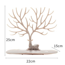 Load image into Gallery viewer, Creative Tree Jewelry Organizer Display Earring Necklace Holder Ring Bracelet Stander