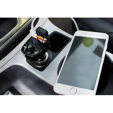 Load image into Gallery viewer, Car Bluetooth Kit FM Transmitter Dual USB MP3 Player Radio USB Port Hands-free Wide Compatibility