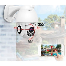 Load image into Gallery viewer, New IP Camera Onvif WiFi 2MP HD1080P Wireless Speed Dome CCTV IR Camera Outdoor Security Surveillance NetCam IP Camera