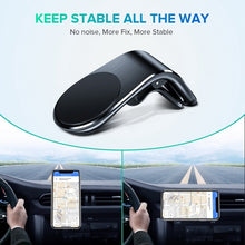 Load image into Gallery viewer, 1Pc Universal Car Smartphone Stand Holder Car Air Vent Mount New Definition Mobile Phone Holder