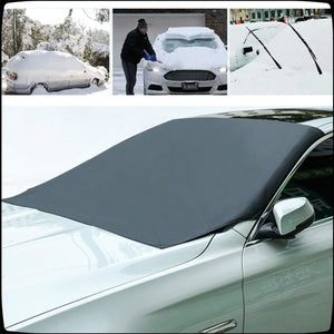 Magnetic Edges Car Snow Cover Windshield Frost Guard Protector Sun Shade Cover Waterproof Car/Truck/SUV