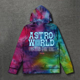 Travis Scott Astroworld Tour Astronaut Hoodies Men and Women Hip Hop Streetwear ASTROWORLD Hoodies Fashion Casual Personalized Harajuku Pullover Sweatshirts Sudadera