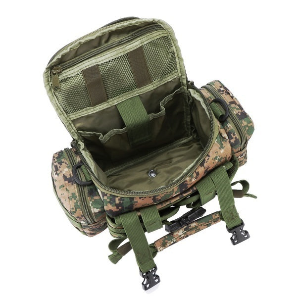 900D Oxford Fabric Outdoor Waist Pesca Multifunctional Large Capacity Canvas Waterproof Carp Fishing Lure Box Tackle Bags Tactical Package(7 Colors)