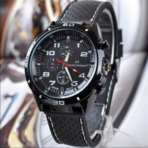 Men Fashion Silicone Band Sport Watch