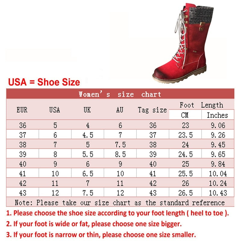 Women Low Chunky Heel Mid Calf Knight Leather Stitiching Lace Up Zip Cowboy Boots Shoes