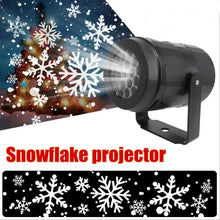 Load image into Gallery viewer, 1PC Snowfall Projector Christmas Led Lights - Snowflakes Projector Snowfall LED Lights Snow LED Projection Lamp For Holiday New Year Xmas Party