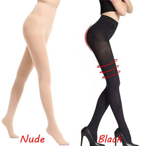 Hot Sale Butt Lifting Anti-Cellulite Sculpting Fat Burning Women Leggings  Slimming Tights Stocking Compression Pantyhose