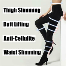 Load image into Gallery viewer, Hot Sale Butt Lifting Anti-Cellulite Sculpting Fat Burning Women Leggings  Slimming Tights Stocking Compression Pantyhose