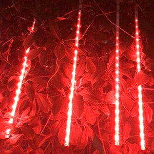 6/8pcs 192LED 30CM / 288 LED 50CM Curtain Fairy Lights Home Party String Lamp Christmas IP65 Waterproof