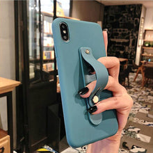 Load image into Gallery viewer, 1PC Universal Candy Color Hand Band Bracket Finger Ring Push Pull Grip Stand Phone Holder
