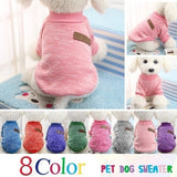 Dog Clothes For Small Dogs Pet Dog Sweater Clothing For Dog Winter Chihuahua Poodle Spring Clothes  Pet Outfit
