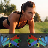 Multifunction Push Up Rack Board Comprehensive Fitness Exercise Workout Push-up Stands Body Building Training Gym