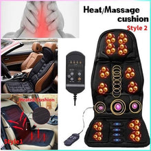Load image into Gallery viewer, 2 Styles  Automatic Car Home Vibration Seat Cover Relaxation Massage Cushion Chair Cushion Sofa Seat Cover/Heating Cushion
