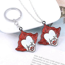 Load image into Gallery viewer, Horror Movie Stephen King'S It Enamel Pendant Necklaces For Women Men Cosplay Jewelry Halloween Gifts