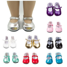 Load image into Gallery viewer, New Doll Shoes-Cute Shoes Fits 18 Inch Doll 9 Colors Available
