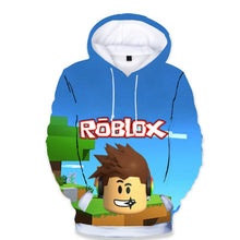 Load image into Gallery viewer, Fashion  Children's Wear Roblox 3D Color Printing Hoodie Cool Digital Printing Hooded coat