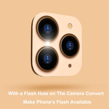 Load image into Gallery viewer, New Design iPhone X XR XS XS Max Chage To iPhone 11 Pro Max Camera Lens Converter Protector