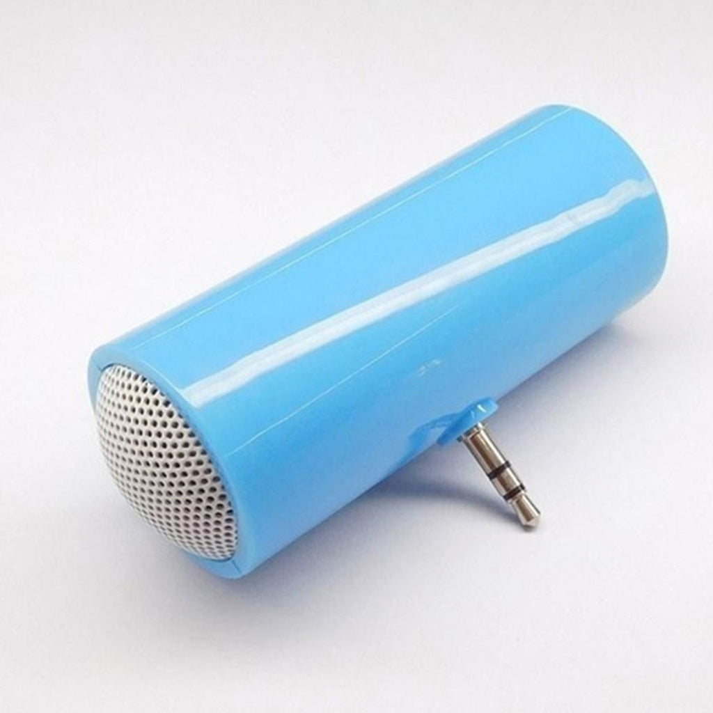 3.5mm Direct Insert Stereo Mini Speaker Microphone Portable Speaker MP3 Music Player Loudspeaker Amplifier for Mobile Phone&Tablet PC