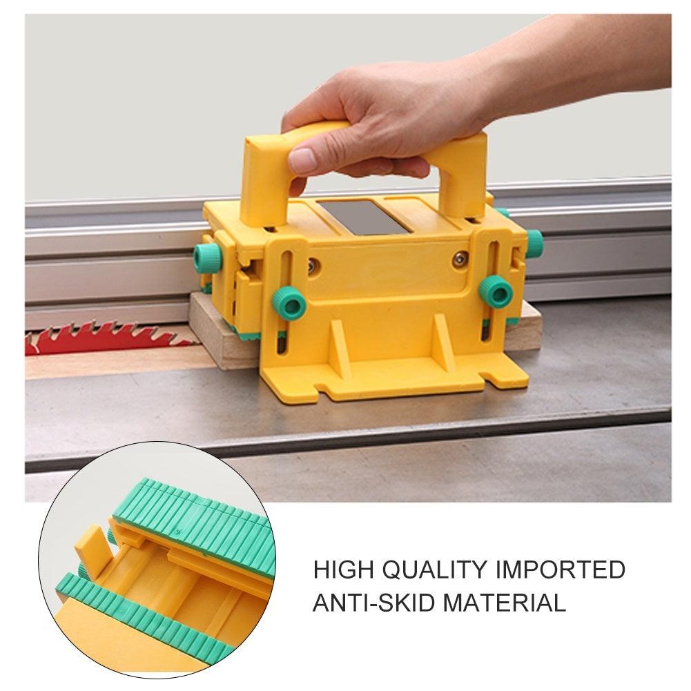 3D Safety Pusher Woodworking Flip Table Planer Vertical Milling Flat Planer Wood Cutting Table Saw Pusher Safe Feeder Wood Tools