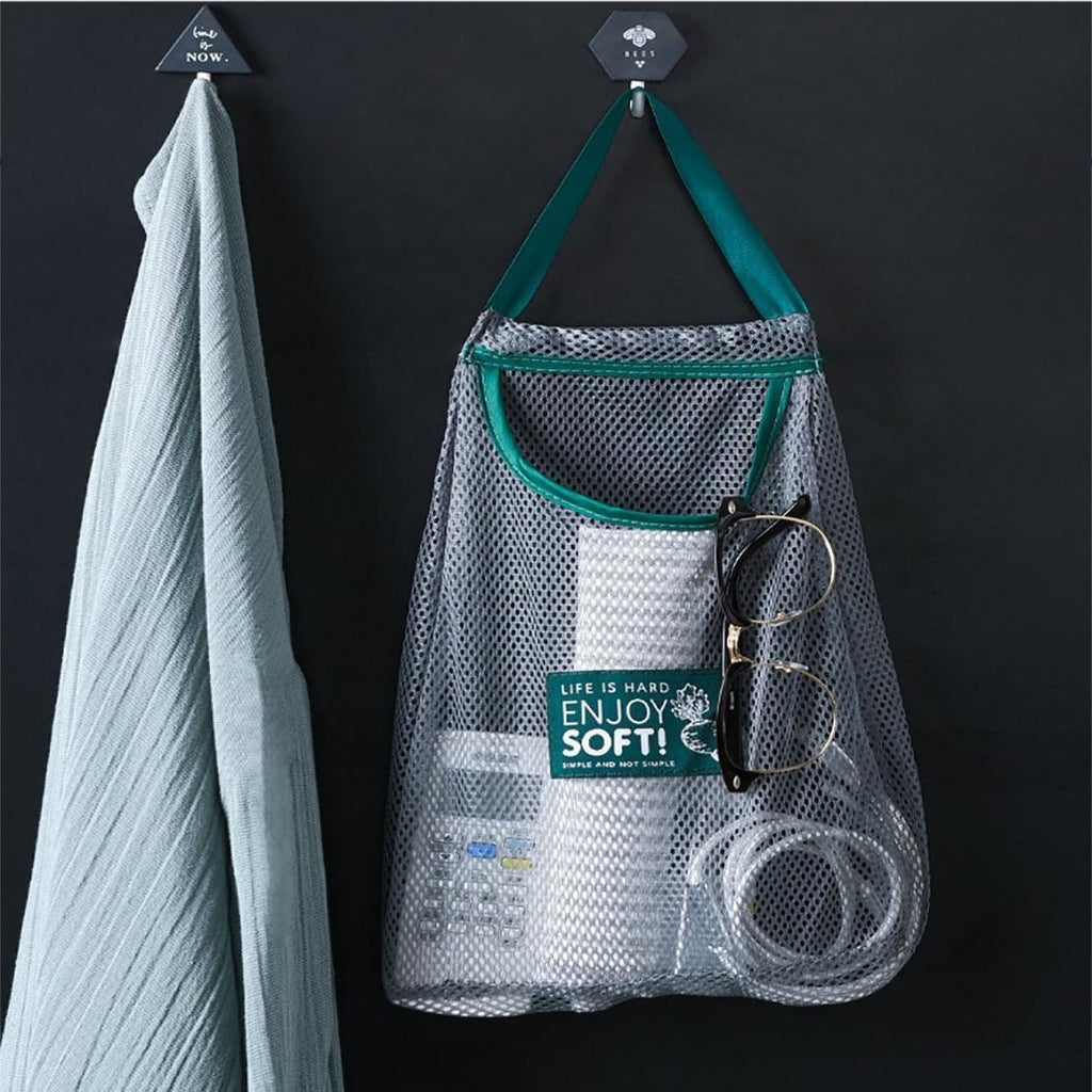 Practical Durable Mesh Hollow Kitchen Storage Bag  Fruit and Vegetable Storage Bag