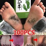 Newest Wormwood Dispel Dampness Foot Patches Resolve Toxin Foot Detox Patch Pads Improve Sleep Quality Weight Loss Slimming Patch Health Care