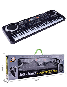 61 key multifunction electronic piano microphone electronic piano adult children musical instrument toy