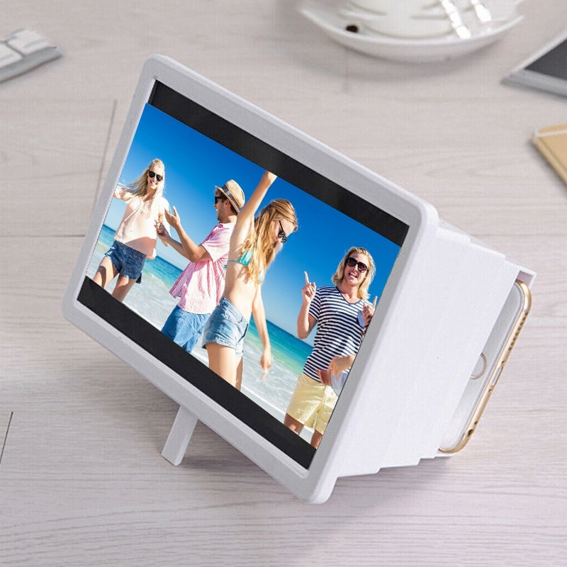 Mobile Phone 3D Screen Magnifier Retractable Universal Phone Screen HD Amplifier Mobile Phone Accessories