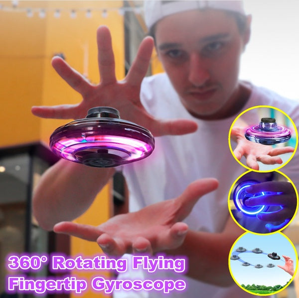 Upgrade Flying Gyro UFO Flynova free sailing maneuver creative decompression aircraft induction toy fingertips