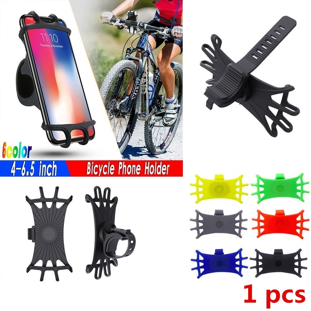 Bicycle Phone Holder Universal Motorcycle Phone Holder Bike Handlebar Stand Support Bracket