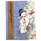 New Christmas Snowman Metal Cutting Dies Stencils Scrapbooking Embossing Craft