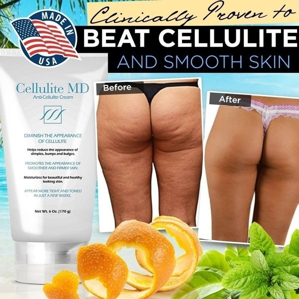 Cellulite MD - Body Sculpting Cellulite Cream -  Bikini Body Cream - Made In USA-Sample