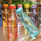 Unbreakable Outdoor Sports Travel Water Bottle Portable Leak-proof Cycling Camping Water Cup