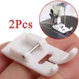 2Pcs Sewing Machine Presser Foot Snap on Foot for Brother Singer Janome Elna Kenmore GL Sewing Accessory