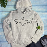 Cute Shark Hoodie, Pullover Hoodie,fashion Sweatshirts for Women