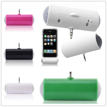 Load image into Gallery viewer, 3.5mm Plug Mini Portable Outdoor USB Interface HD Phone Speaker