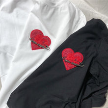 Load image into Gallery viewer, Men Women Long T-shirt Palm Angels High Streetwear Hip Hop Love Tops Harajuku Kanye West Tee T Shirt